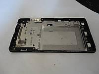 Б.у. рамка дисплея оригинал для LG Optimus G E975