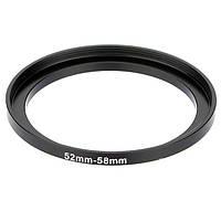 Переходное кольцо с резьбы 52 мм на резьбу 58 мм