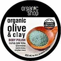 Скраб для тела «Голубая глина» Organic Shop , 250 мл