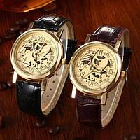 Качественные мужские часы под skeleton. Интересный дизайн. Классические часы. Интернет магазин. Код: КДН760