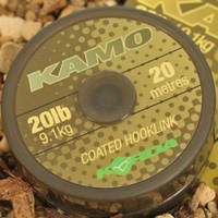 Поводковый материал KORDA KAMO COATED HOOKLINK