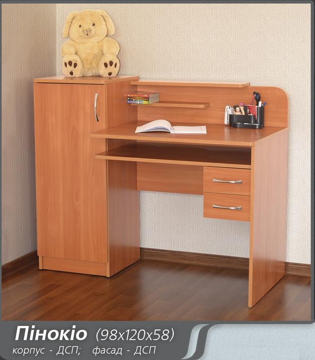 Комп'ютерний стіл Пінокіо Летро