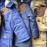 Куртка детская на мальчика мех иск., фото 2