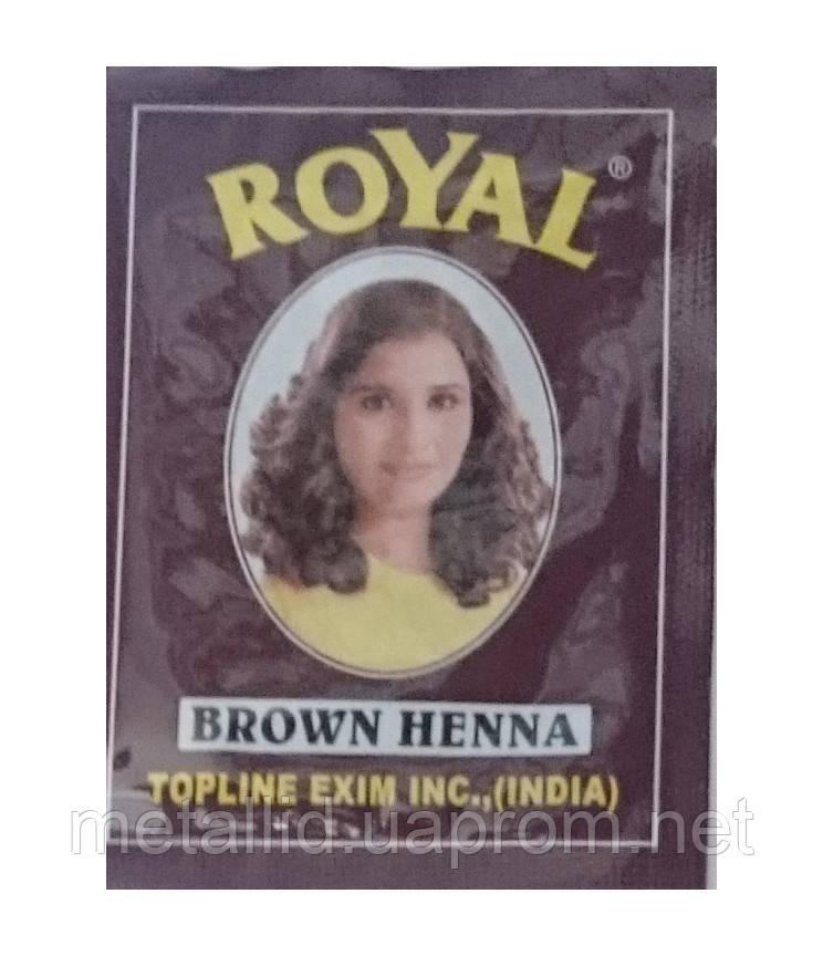 Хна для бровей Royal (тон коричневый)