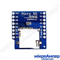 WeMos D1 mini Модуль TF картки