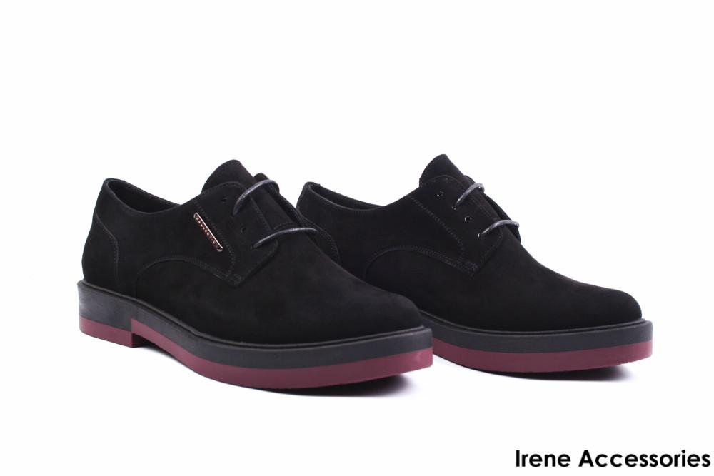 c9f1e59aa Туфли женские замш Strado (комфортные, стильные, черные, Украина) -  Стильная обувь