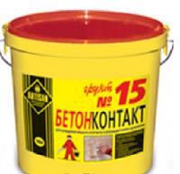 Грунтовка Артисан Бетонконтакт №15, 10л
