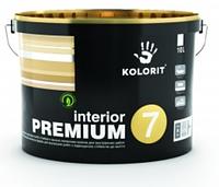 Краска латексная Kolorit Interior Premium 7 (Колорит Интерьер Премиум), база А