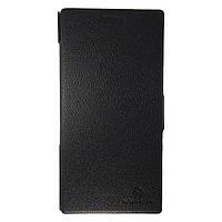 Чехол-книжка Lenovo K900 Fresh Series Leather Case чёрного цвета