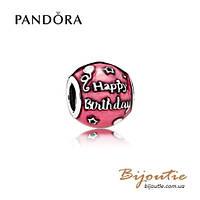 Pandora шарм ДЕНЬ РОЖДЕНЬЯ #791983EN117 серебро 925 Пандора оригинал