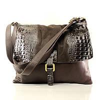 Итальянская кожаная сумка через плечо BI002-04