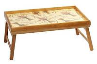 Бамбуковый столик для завтрака Пшеница