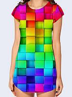 Туника Цветные кубики