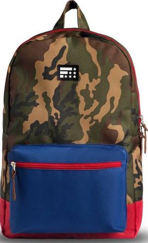 Надежный городской рюкзак 18 л. Fusion Air Force One, камуфляж