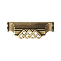 Ручка раковина классика URB-16-670 античная бронза, фото 1
