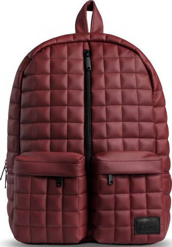 Красивый городской рюкзак 30 л. Fusion Marsala, бордовый