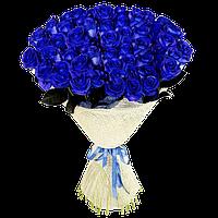 букет роз синих фото
