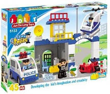 JDLT 5133 Конструктор Полицейский участок.