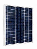 Солнечная поликристаллическая батарея KDM 50Вт / 12В  KDM-050P-36
