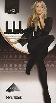 Колготки жіночі еластик на байку Jujube B868, 800 Den, розмір XL (4), 1 шов