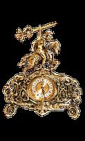 Часы бронзовые «Всадник»