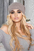 Прикольная женская шапка / Шапка 4404