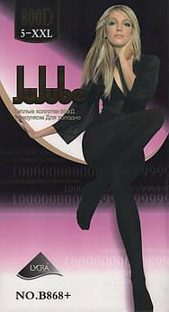 Колготки женские эластик на байке Jujube B868+, 800 Den, размер 2XL (5), 2 шва