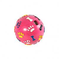 Мяч-погремушка лапки от FOX, игрушка для собак, 7см