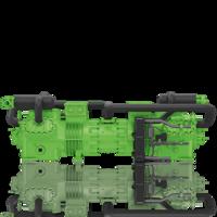 Полугерметичный двухступенчатый тандем компрессоров Bitzer S66F-60.2(Y)