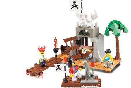 Конструктор SLUBAN Пиратская серия 142 детали