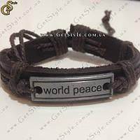 "Браслет ""World Peace"", фото 1"