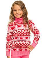 """Детский шерстяной свитер """"Сердце"""""""