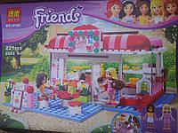 Конструктор Bela Friends-кафе в городском парке 221дет