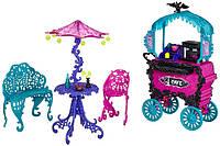 Монстер хай кафе (Monster High Travel Scaris Café Cart)