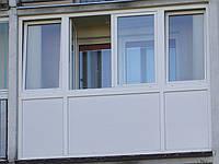 Балконная рама металлопластиковая Aluplast, Salamander, Wintech
