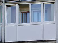 Балконная рама металлопластиковая Aluplast, Salamander, VEKA в Харькове и Харьк. обл