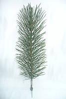 Ветка сосна литая зеленая - новогодние игрушки и украшения