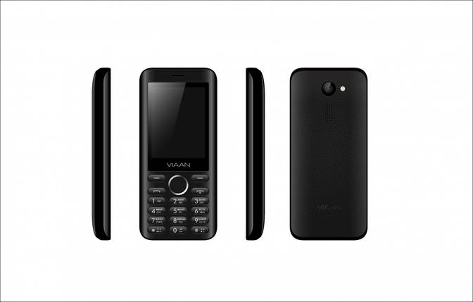 Мобильный телефон Viaan V241 Black, фото 2