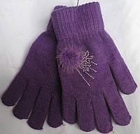 Перчатки женские  бантик RuBi