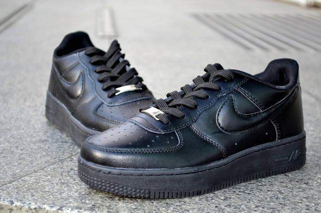 Кожаные кроссовки Nike Air Force, мужские, женские, фото 2