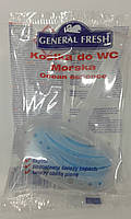 Однокомпонентный антибактериально - ароматический блок для унитазов General Fresh Морской, 30 г