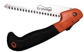Пила TRAMP розкладна, легована сталь/ TRP+ABC пластик, розмір 22см/40см, вага 300г, TRA-054