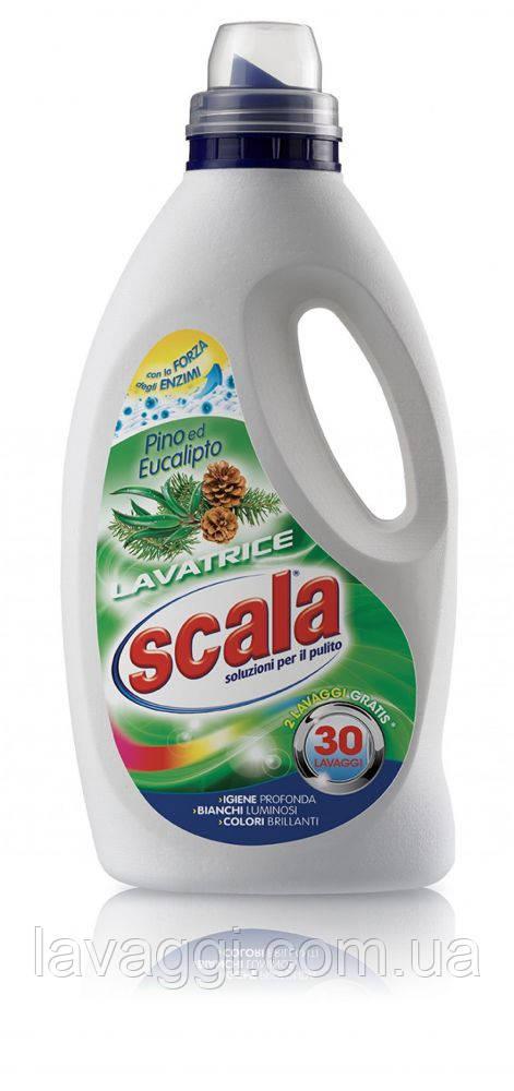 Гель для стирки Scala Lavatrice Pino e Eucalipto 1,5L