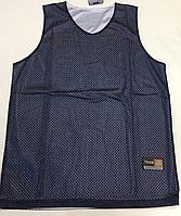 Форма баскетбольная р. 48-50, 52-54 (двусторонняя синяя/белая)