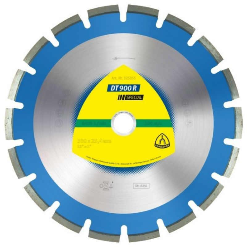 Алмазный отрезной круг Klingspor DT 900 R Special 350x3x25,4/21w/10