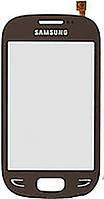 Тачскрин (сенсор) Samsung S5292 brown h/c