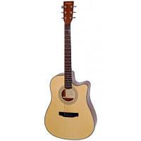 Гитара электроакустическая Rafaga TYMA HDC-Е-100 NS с пьезодатчиком