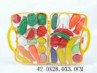 Фрукты/овощи, 27 предметов, в чемодане