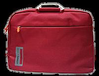 "Неповторимая сумка для ноутбука до 15.6 "" бордо"