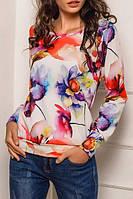 Ariona Свитшот женский с принтом Цветы